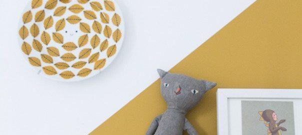 &SUUS | Okergoud in de kinderkamer | Kleur van het Jaar | www.ensuus.nl | DIY kast_
