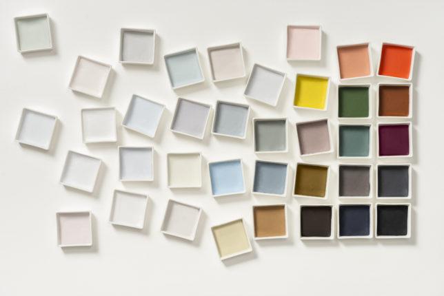 Flexa kleurenpalet bi kleur van het jaar 2020 Tranquil Dawn