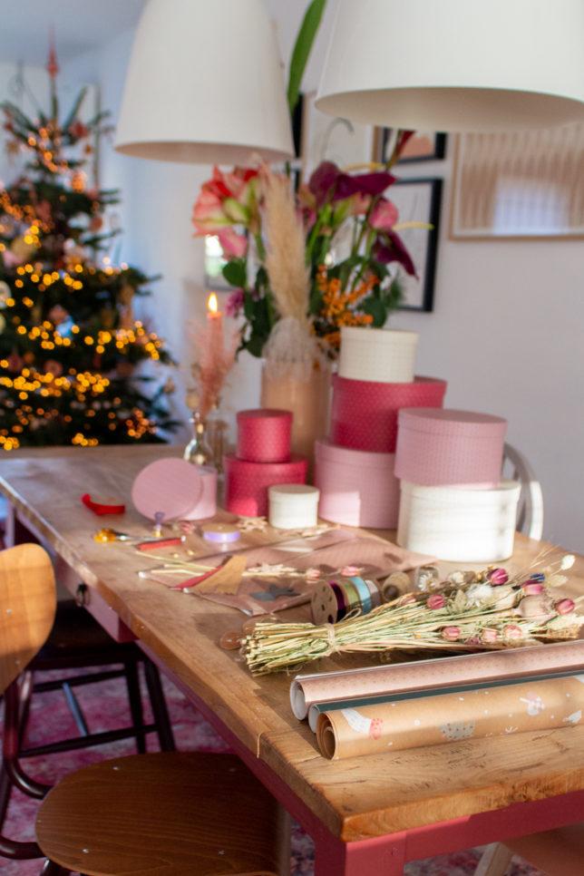 Kerstcadeautjes inpakken met Sostrene Gene enSuus