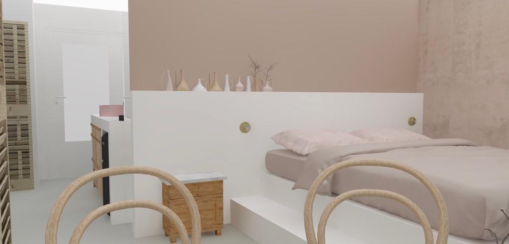 &SUUS Interieuradvies B&B Bed en Wijn Baarlo 3D EnSuus ontwerp