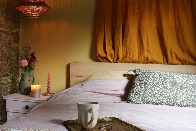 &SUUS caravan slaapkamer make over Swisse Sense ensuus