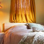 Caravan slaapkamer make - over met Swiss Sense
